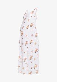 Dorothy Perkins Maternity - CAMI FLORAL CRINKLE DRESS - Długa sukienka - ivory - 4