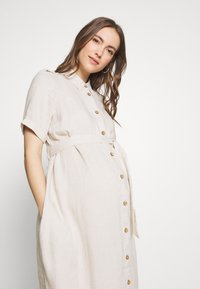 Dorothy Perkins Maternity - SHIRT DRESS - Košilové šaty - stone - 3