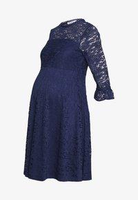 Dorothy Perkins Maternity - OCCASION DRESS - Koktejlové šaty/ šaty na párty - navy - 0