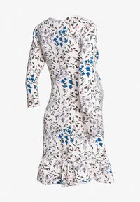 Dorothy Perkins Maternity - MATERNITY FLORAL WRAP FIT AND FLARE DRESS - Žerzejové šaty - ivory - 1