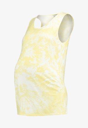 TIE DYE VEST - Top - sunshine yellow
