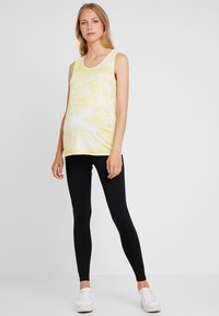 Dorothy Perkins Maternity - TIE DYE VEST - Top - sunshine yellow - 1