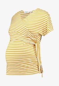 Dorothy Perkins Maternity - BALLET WRAP NURSING - T-shirts med print - ochre - 5
