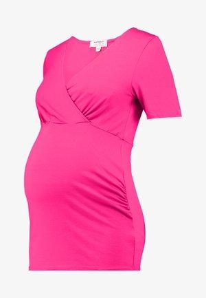 WRAPNURSING - T-shirt print - pink