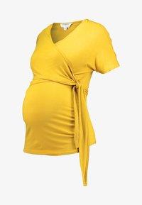 Dorothy Perkins Maternity - BALLET WRAP - Printtipaita - ochre - 3
