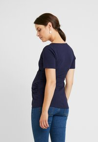 Dorothy Perkins Maternity - WRAP NUSING - T-shirt basic - navy - 2