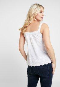 Dorothy Perkins Maternity - BRODERIE NURSING CAMI - Bluse - white - 2