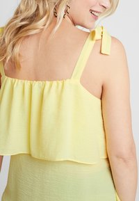 Dorothy Perkins Maternity - NURSING CAMI STRIPE - Bluzka - lemon - 5