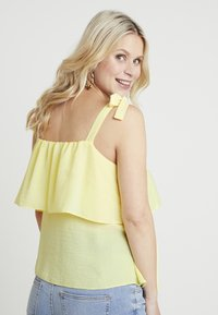 Dorothy Perkins Maternity - NURSING CAMI STRIPE - Bluzka - lemon - 2