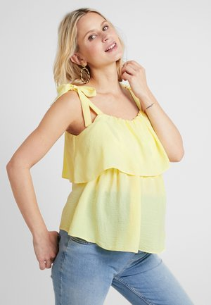 NURSING CAMI STRIPE - Blouse - lemon