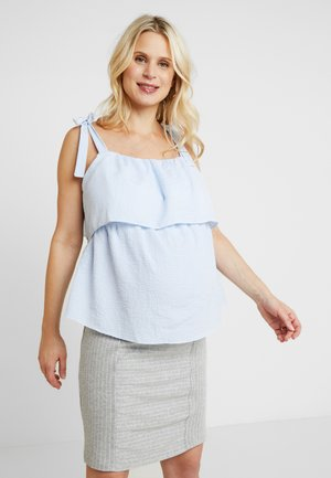 NURSING CAMI STRIPE - Blusa - blue