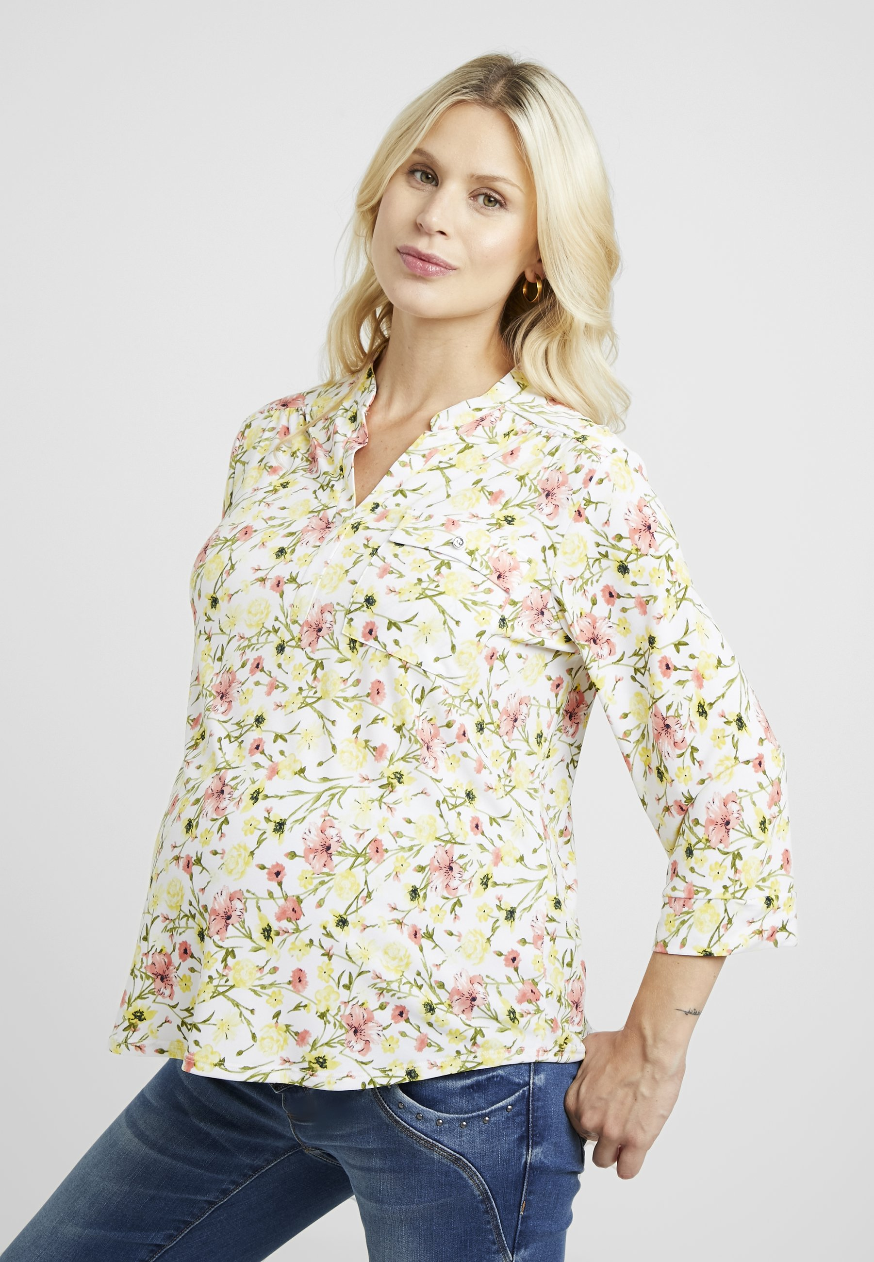 Perkins Manches shirt ItyT Maternity Bright Longues À Dorothy Floral 7yYgb6Ifv