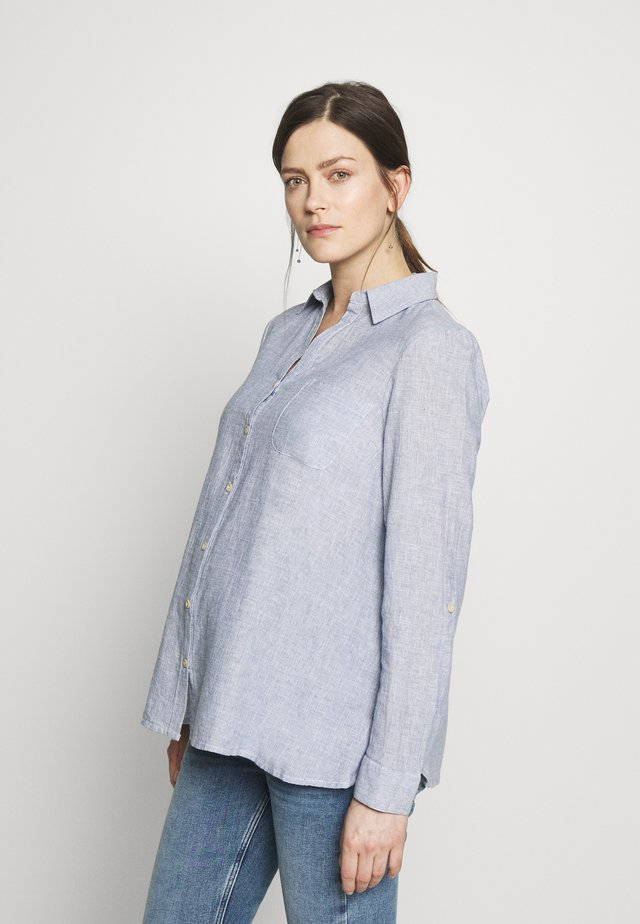 SHIRT - Skjortebluser - blue