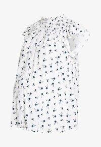 Dorothy Perkins Maternity - DITSY FLORAL BUTTON THROUGH CRINKLE - Koszula - ivory - 0
