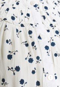 Dorothy Perkins Maternity - DITSY FLORAL BUTTON THROUGH CRINKLE - Koszula - ivory - 2