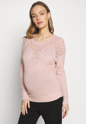PONTELLE YOKE JUMPER - Svetr - pink
