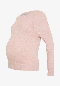 Dorothy Perkins Maternity - PONTELLE YOKE JUMPER - Strikkegenser - pink - 3
