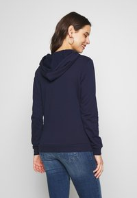 Dorothy Perkins Maternity - EMBROIDERED HOODY - Sweater - navy - 2