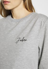 Dorothy Perkins Maternity - JADORE LOGO  - Sweater - grey - 5