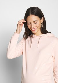Dorothy Perkins Maternity - EMBROIDERED HOODY - Mikina - blush - 3