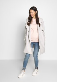 Dorothy Perkins Maternity - EMBROIDERED HOODY - Mikina - blush - 1