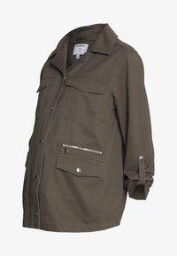Dorothy Perkins Maternity - RELAXED SHACKET - Summer jacket - khaki - 0