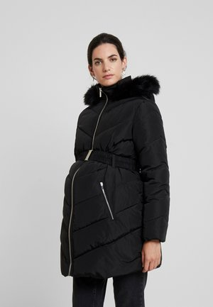 LONG LUXE PADDED - Vinterfrakker - black