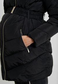Dorothy Perkins Maternity - LONG LUXE PADDED - Veste d'hiver - black - 5