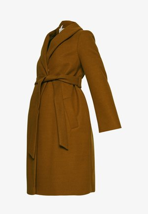 SHAWL COLLAR WRAP COAT - Frakker / klassisk frakker - camel