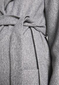 Dorothy Perkins Maternity - TWILL WRAP COAT - Vinterfrakker - grey marl - 4