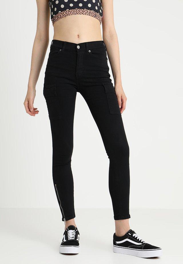 DEZIE  - Skinny džíny - black