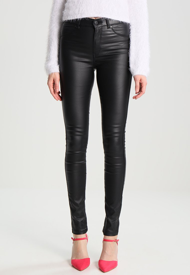 Dr.Denim - PLENTY - Trousers - black metal
