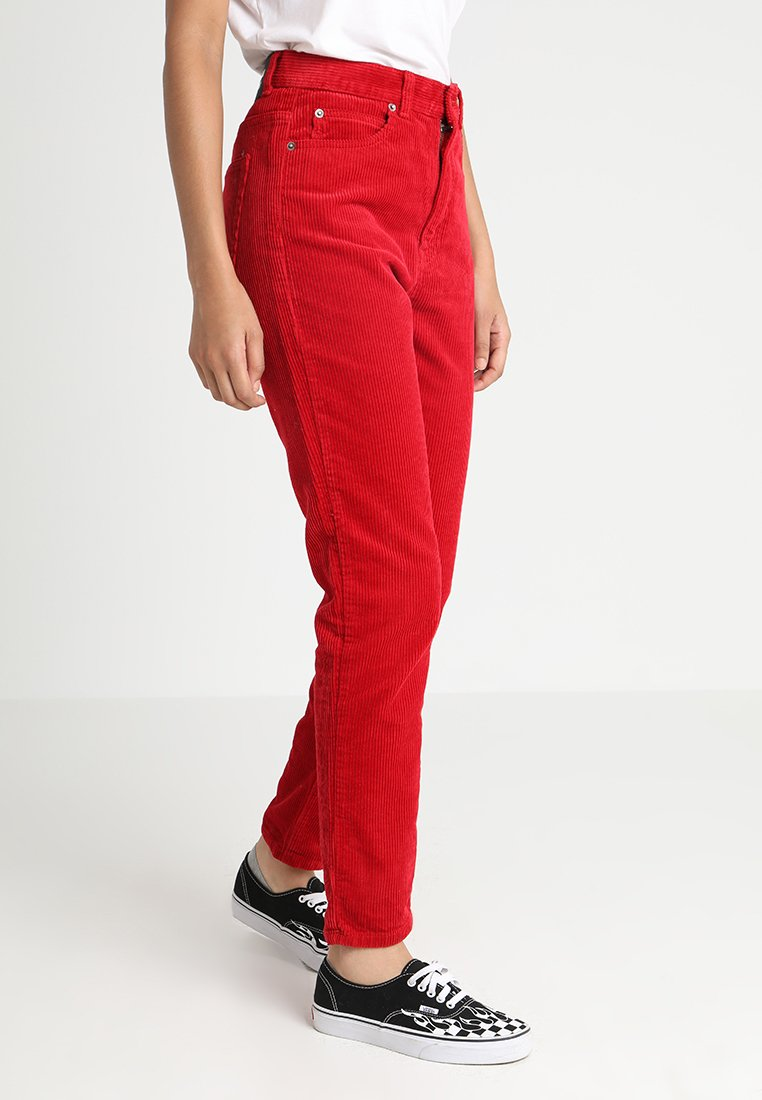 Dr.Denim - NORA - Trousers - red cord