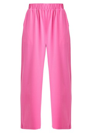 ABEL TROUSERS - Tygbyxor - power pink