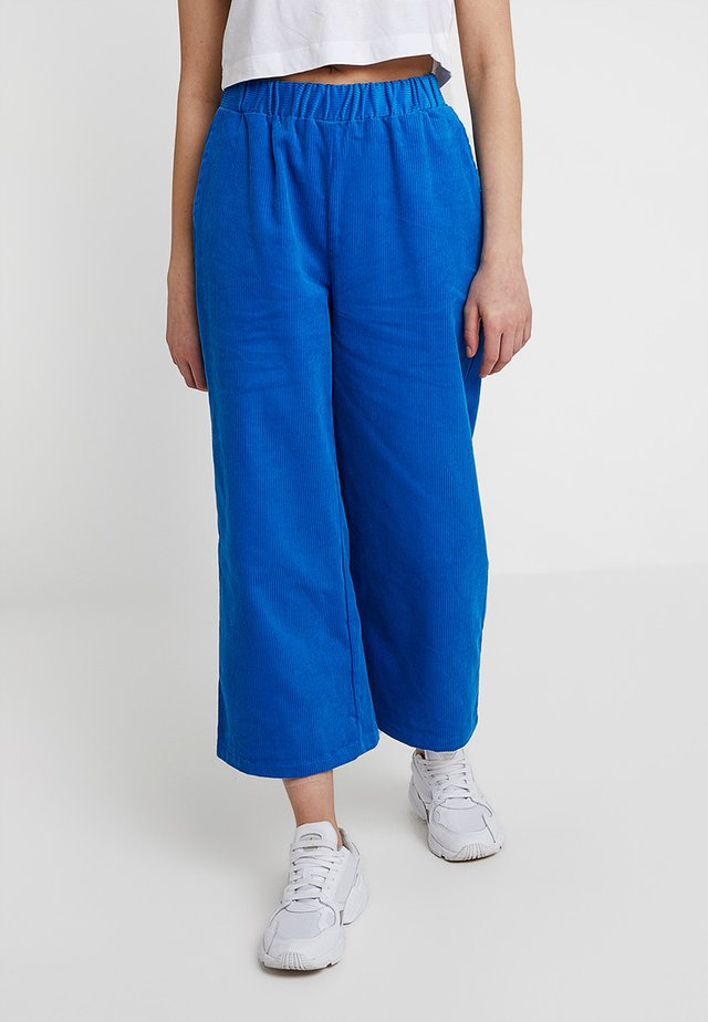 ABEL TROUSERS - Stoffhose - electric blue