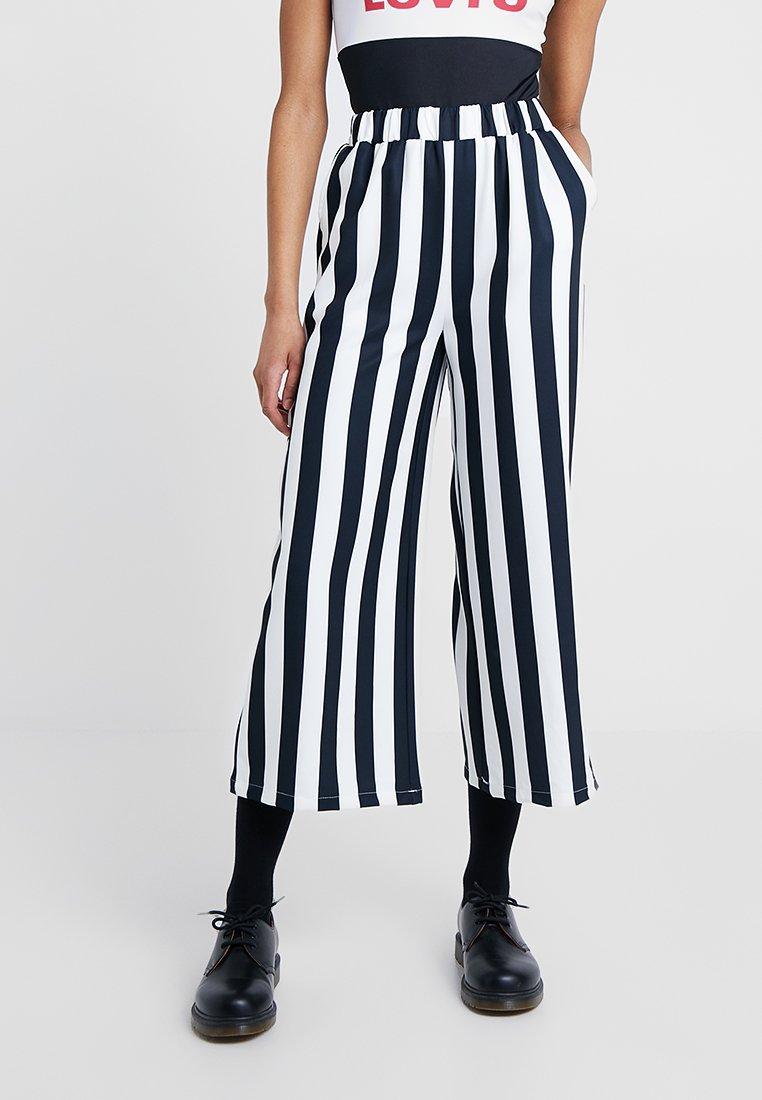Dr.Denim - ABEL TROUSERS - Trousers - spring stripe