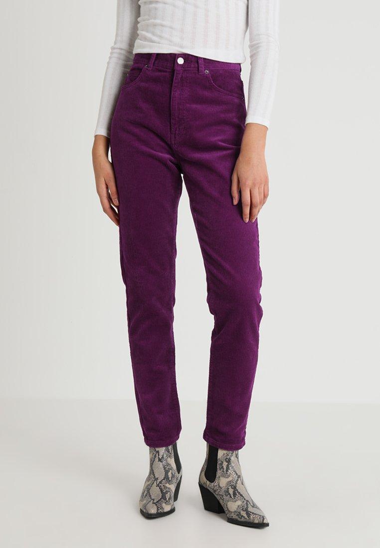 Dr.Denim - NORA - Kalhoty - magenta purple