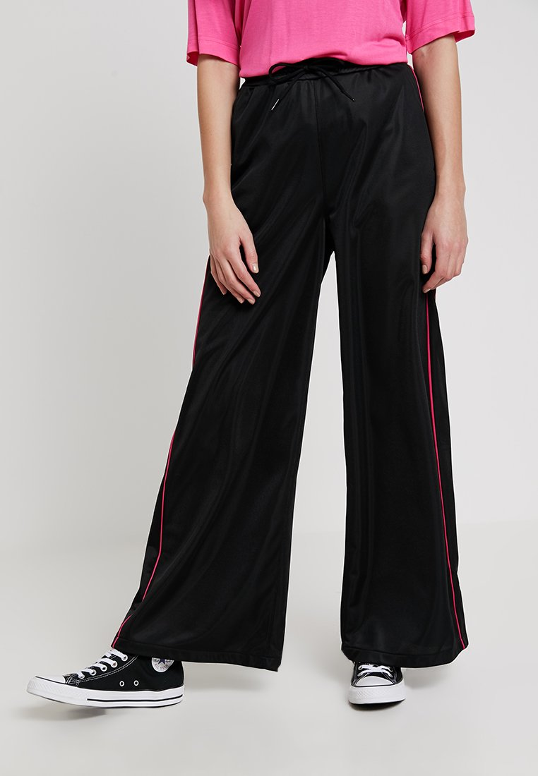 Dr.Denim - ASTA TROUSERS - Spodnie materiałowe - black