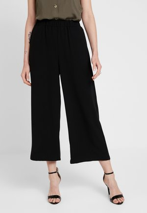 ABEL TROUSERS - Trousers - black