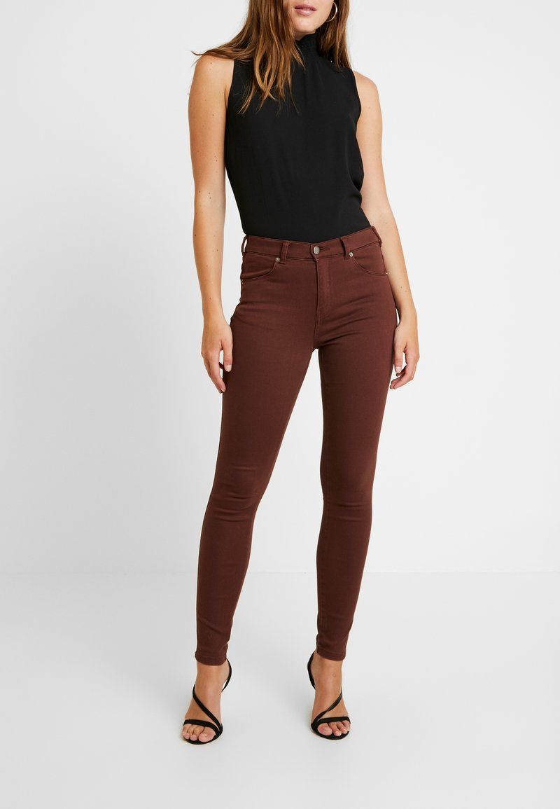 Dr.Denim - LEXY - Jeans Skinny Fit - bitter chocolate