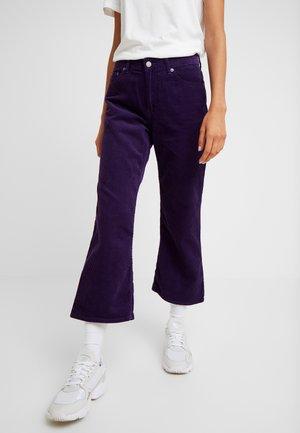 CADELL - Spodnie materiałowe - deep purple