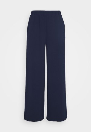 BELL TROUSERS - Bukse - black opal