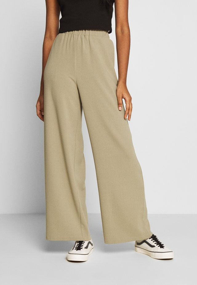 BELL TROUSERS - Broek - green agate