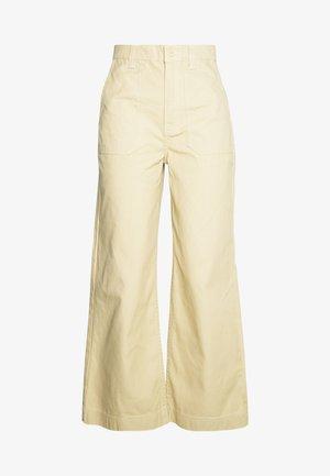 TUVA WORKER PANTS - Trousers - desert