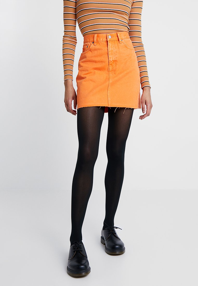 Dr.Denim - MALLORY SKIRT - Mini skirt - stone orange
