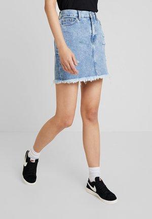 MALLORY SKIRT - Spódnica jeansowa - canyon blue