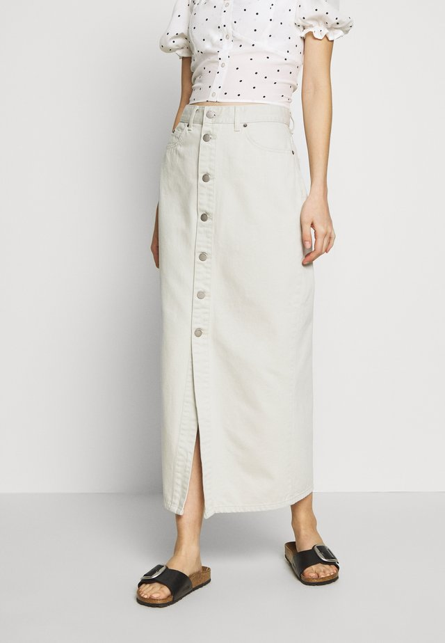 VENLA SKIRT - Denim skirt - washed pinfire