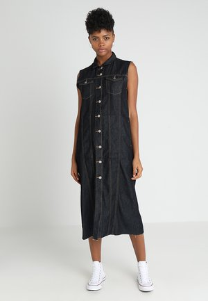 TRINE DRESS - Denim dress - blue stone washed