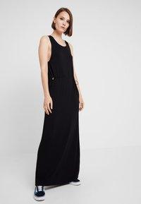 Dr.Denim - DAY DRESS - Maxi šaty - black - 0
