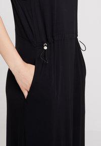 Dr.Denim - DAY DRESS - Maxi šaty - black - 5